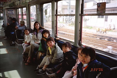 Shinagawa Aquarium Field Trip Train Ride