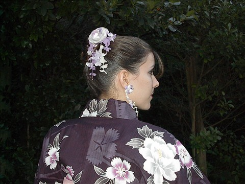 Japanese Yukata on American