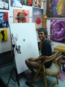 artist alley thailand