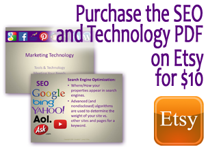 seo marketing presentation handout