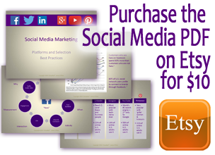 social media best practices on etsy